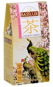Basilur Chinese Collection Jasmine Green kartonik 100g - herbata zielona jaśminowa