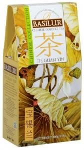 Basilur Chinese Collection Tie Guan Yin Tea kartonik 100g - herbata turkusowa, chiński ulung