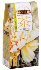 Basilur Chinese Collection White Tea kartonik 100g - herbata biała