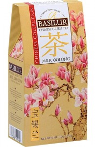 Basilur Chinese Collection Milk Oolong Tea kartonik 100g - mleczny ulung - herbata turkusowa