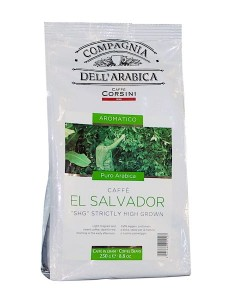 Compagnia dell'Arabica El Salvador SHG Strictly High Grown 250g  - wysokogórska arabika w ziarnach