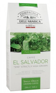 Compagnia dell'Arabica El Salvador SHG Strictly High Grown 250g - mielony singiel z Salwadoru