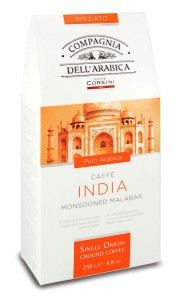 Compagnia dell'Arabica India Monsooned Malabar 250g - mielona indyjska arabika monsunowa