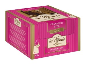 Sir William's Cranberry Rose 50x2,4g - herbatka owocowa o smaku dzikiej róży i żurawiny