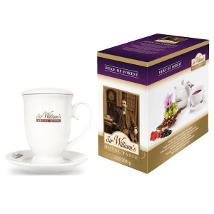 Sir William's Royal Taste Duke of Forest 50x4g herbata owocowa i kubek 400 ml