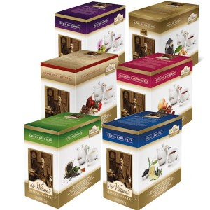 Pakiet Sir William's Royal Black & Fruit - 6 herbat po 50 sztuk, 300 saszetek