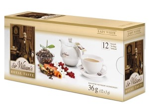Sir William's Royal Taste Lady White 12x3g - herbata biała z owocami