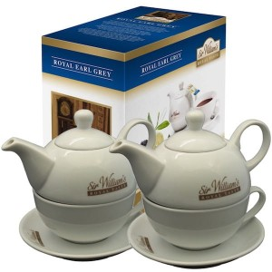 Sir William's Royal Taste Earl Grey 50x2,5g i dwa dzbanki duo