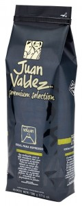 Juan Valdez Premium Selection Volcan 500g - mieszanka kolumbijskich arabik do espresso - data ważn. 03.2022