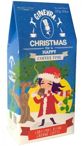 Ginevra Christmas for a Happy Coffee Time 250g - włoska kawa