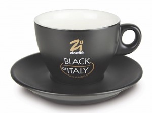 Filiżanka Zicaffe Capuccino Black of Italy 150 ml