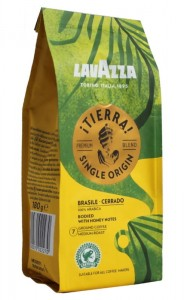 Lavazza Tierra Brasile Cerrado 180g - single origin, 100% arabika - mielona