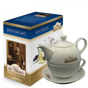 Sir William's Royal Taste Earl Grey 50 i dzbanek duo