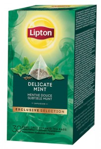 Lipton Exclusive Selection Delicate Mint 30x1,1g - herbata miętowa w piramidkach