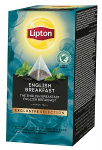 Lipton Exclusive Selection English Breakfast 25x2g - herbata czarna w piramidkach