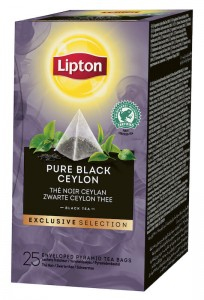 Lipton Exclusive Selection Pure Black Ceylon 25x2g - herbata czarna w piramidkach