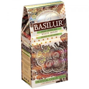 Herbata Basilur Oriental Collection White Moon 100g - mleczny ulung